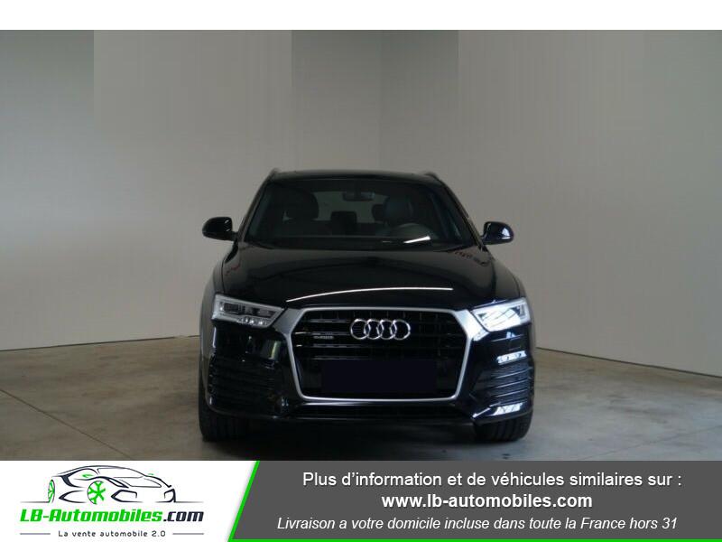 Audi Q3 2.0 TDI 150 ch Quattro S tronic S Line Noir occasion à Beaupuy - photo n°12