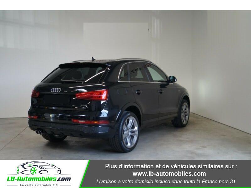 Audi Q3 2.0 TDI 150 ch Quattro S tronic S Line Noir occasion à Beaupuy - photo n°3