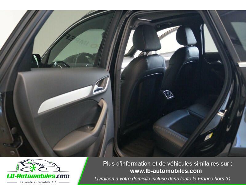 Audi Q3 2.0 TDI 150 ch Quattro S tronic S Line Noir occasion à Beaupuy - photo n°5