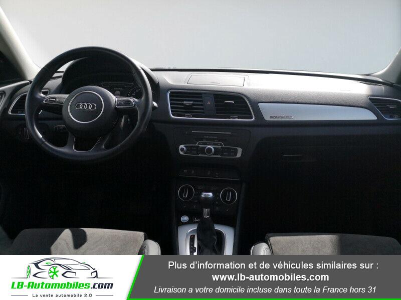 Audi Q3 2.0 TDI 150 ch Quattro S tronic S Line Gris occasion à Beaupuy - photo n°2