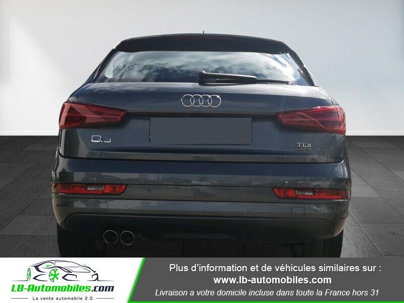 Audi Q3 2.0 TDI 150 ch Quattro S tronic S Line Gris occasion à Beaupuy - photo n°8