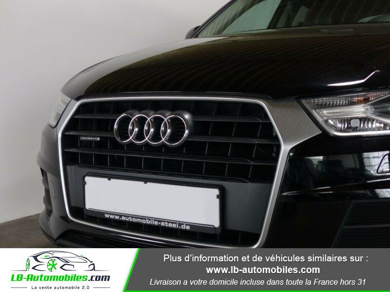 Audi Q3 2.0 TDI 150 ch Quattro S tronic Noir occasion à Beaupuy - photo n°9
