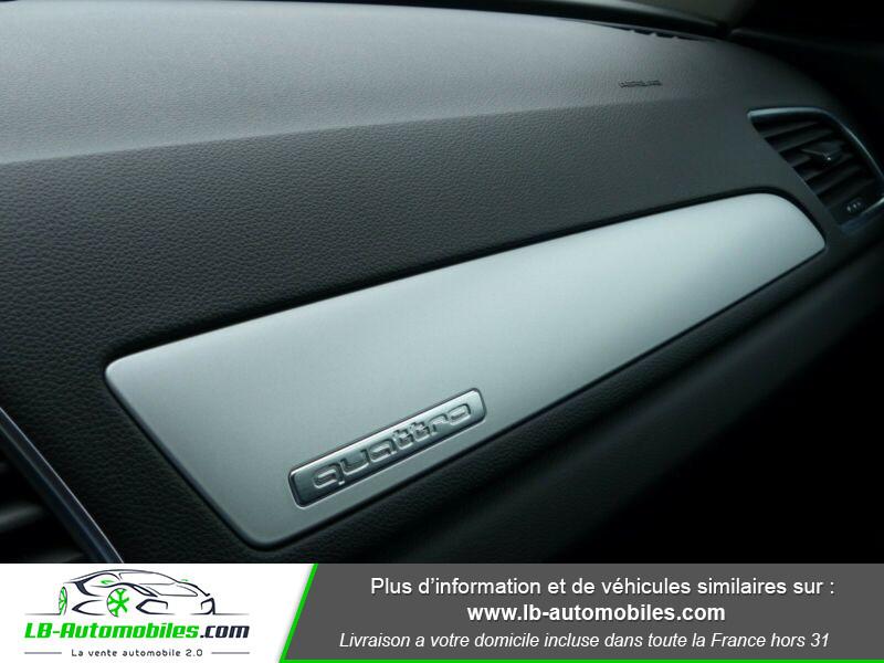 Audi Q3 2.0 TDI 150 ch Quattro S tronic Noir occasion à Beaupuy - photo n°8