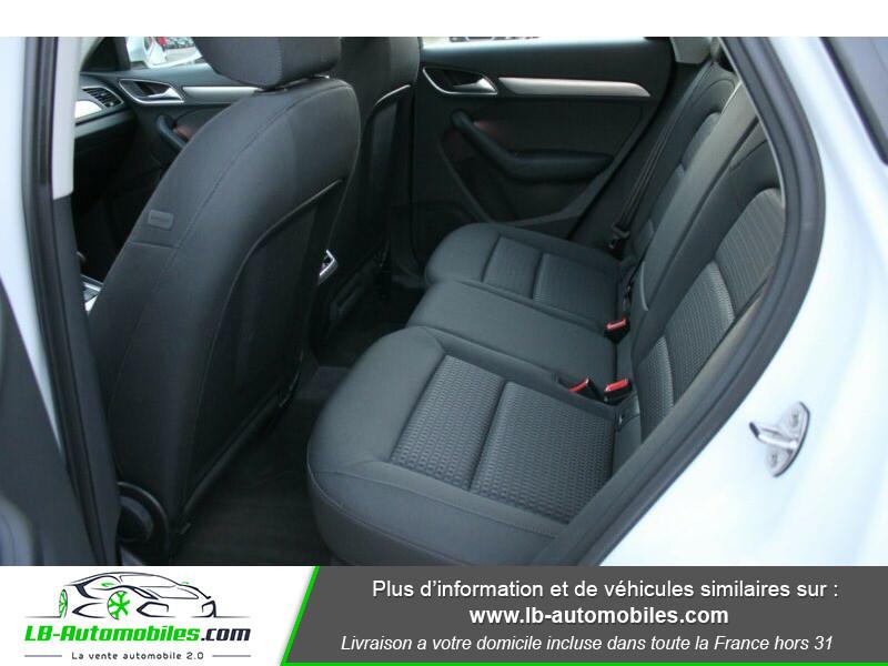 Audi Q3 2.0 TDI 150 ch Quattro S tronic Blanc occasion à Beaupuy - photo n°10