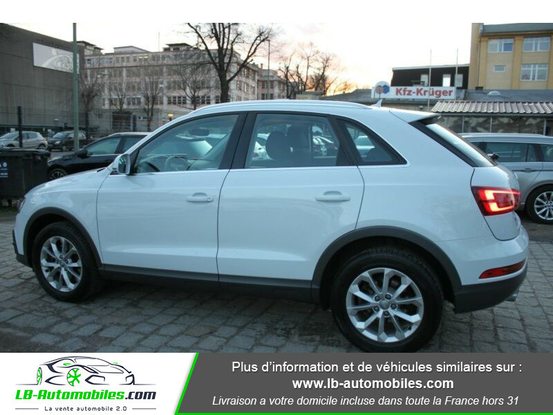 Audi Q3 2.0 TDI 150 ch Quattro S tronic Blanc occasion à Beaupuy - photo n°4