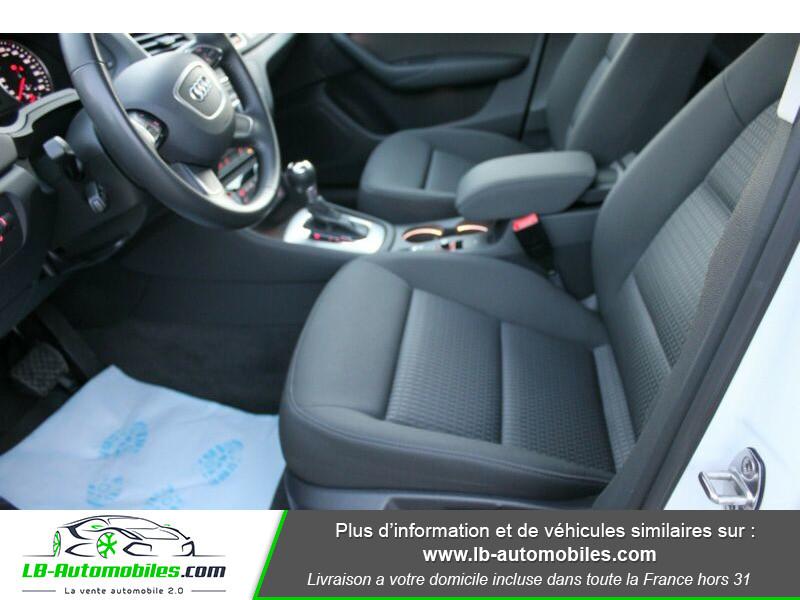 Audi Q3 2.0 TDI 150 ch Quattro S tronic Blanc occasion à Beaupuy - photo n°5