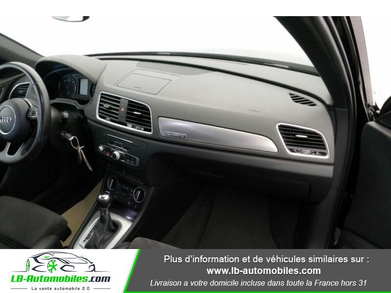 Audi Q3 2.0 TDI 150 ch Quattro S tronic Noir occasion à Beaupuy - photo n°12