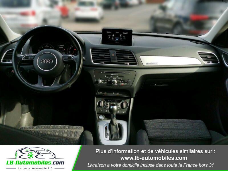 Audi Q3 2.0 TDI 150 ch Quattro S tronic Noir occasion à Beaupuy - photo n°2