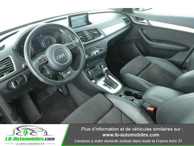 Audi Q3 2.0 TDI 150 ch Quattro Noir occasion à Beaupuy - photo n°2