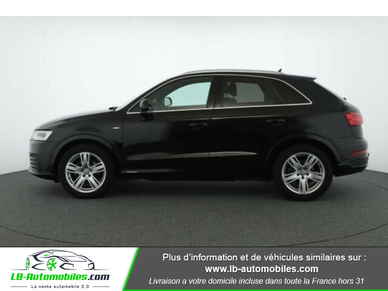 Audi Q3 2.0 TDI 150 ch Quattro Noir occasion à Beaupuy - photo n°12