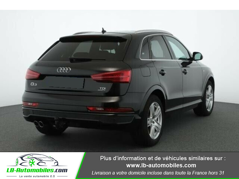 Audi Q3 2.0 TDI 150 ch Quattro Noir occasion à Beaupuy - photo n°3