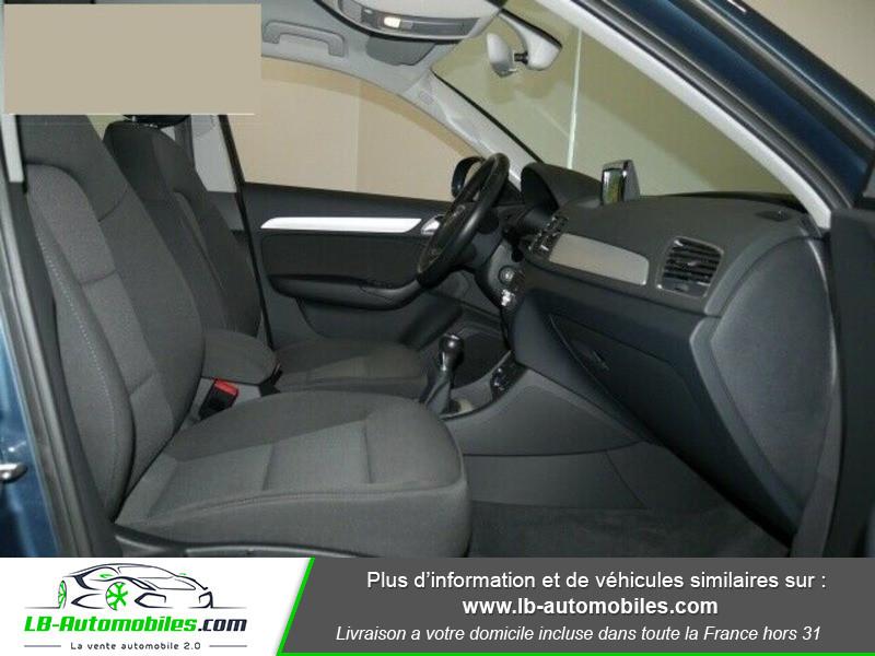 Audi Q3 2.0 TDI 150 ch Bleu occasion à Beaupuy - photo n°4