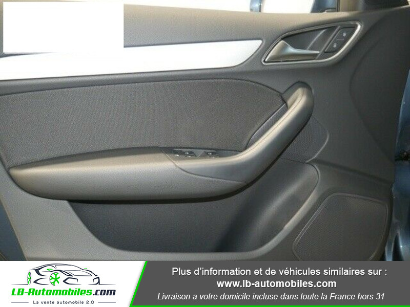 Audi Q3 2.0 TDI 150 ch Bleu occasion à Beaupuy - photo n°8