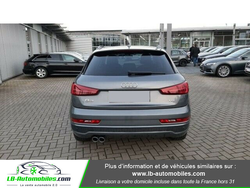 Audi Q3 2.0 TDI 150 ch Gris occasion à Beaupuy - photo n°7