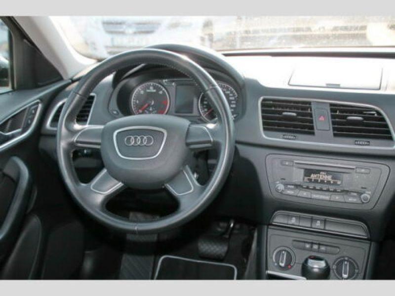 Audi Q3 2.0 TDI 150 Quattro Noir occasion à Beaupuy - photo n°7