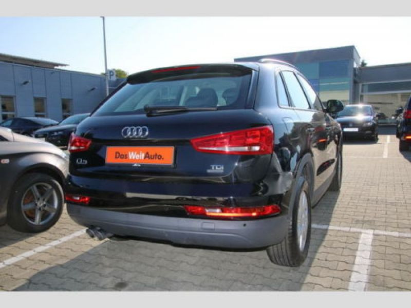 Audi Q3 2.0 TDI 150 Quattro Noir occasion à Beaupuy - photo n°3