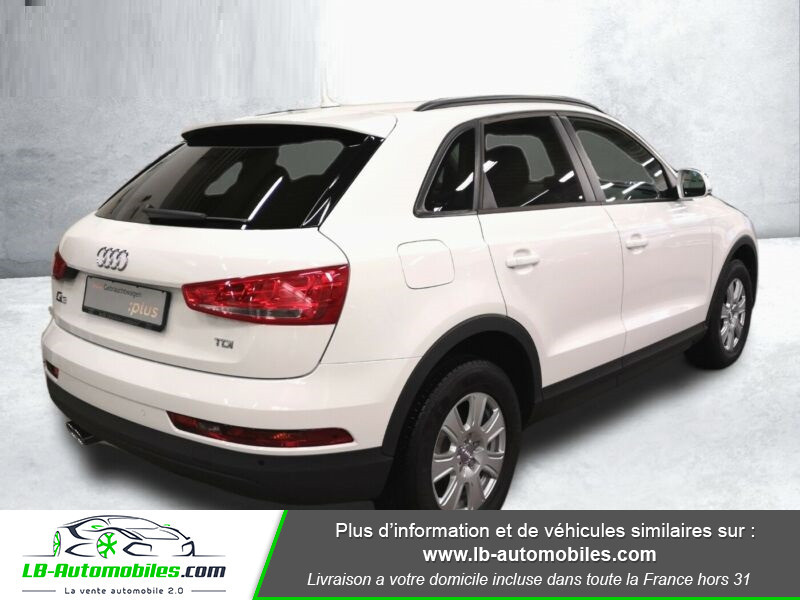 Audi Q3 2.0 TDI 150 S TRONIC Blanc occasion à Beaupuy - photo n°7