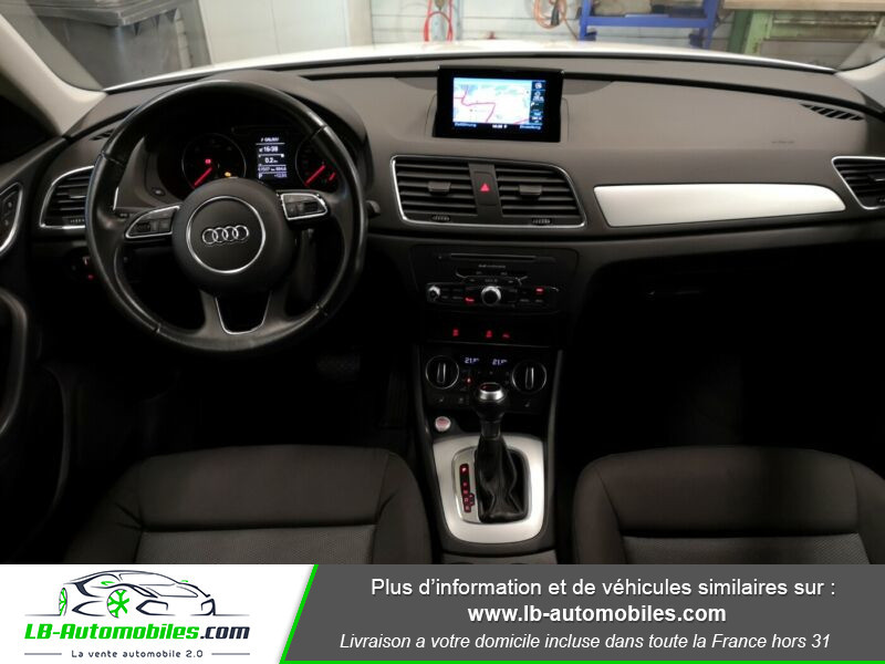 Audi Q3 2.0 TDI 150 S TRONIC Blanc occasion à Beaupuy - photo n°2