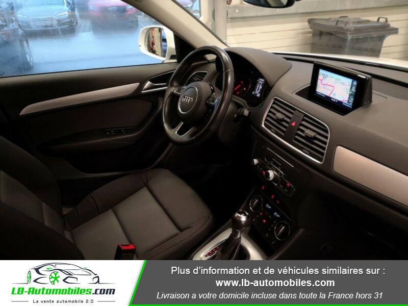 Audi Q3 2.0 TDI 150 S TRONIC Blanc occasion à Beaupuy - photo n°4