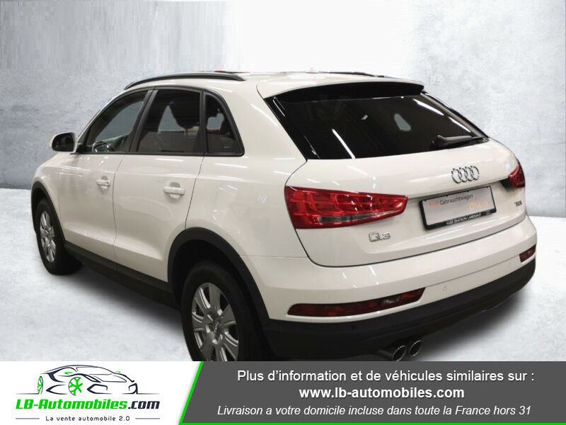 Audi Q3 2.0 TDI 150 S TRONIC Blanc occasion à Beaupuy - photo n°3