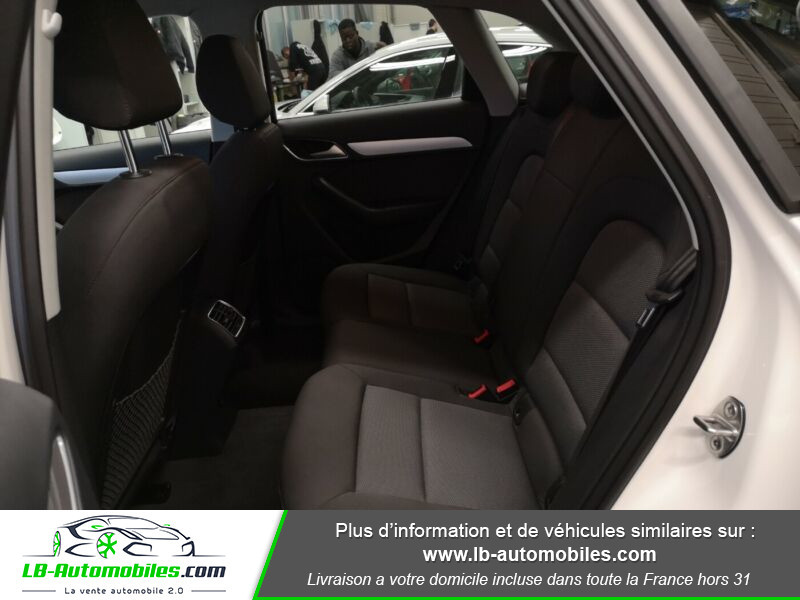 Audi Q3 2.0 TDI 150 S TRONIC Blanc occasion à Beaupuy - photo n°5