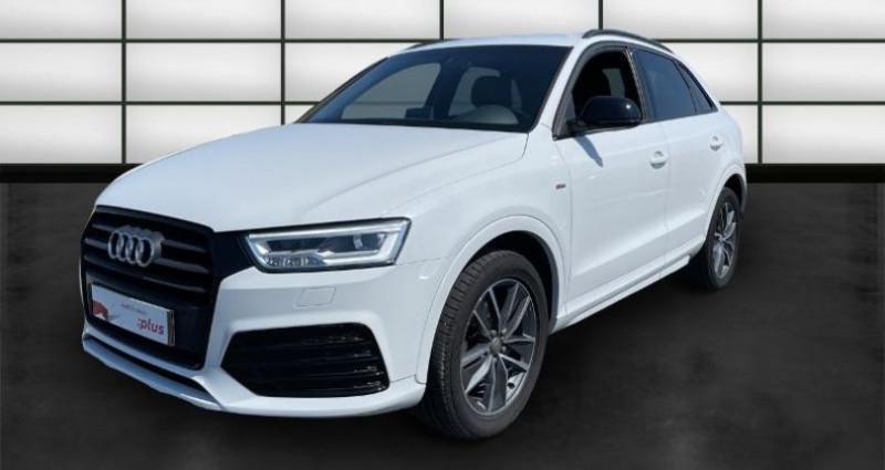 Audi Q3 2.0 TDI 150ch ultra Midnight Series Blanc occasion à La Rochelle