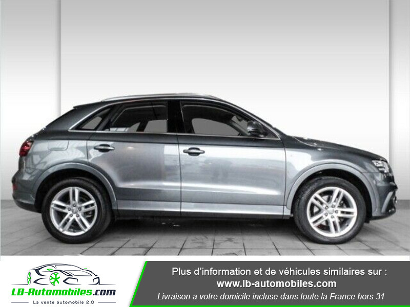 Audi Q3 2.0 TDI 177 ch Quattro S tronic 7 Gris occasion à Beaupuy - photo n°5