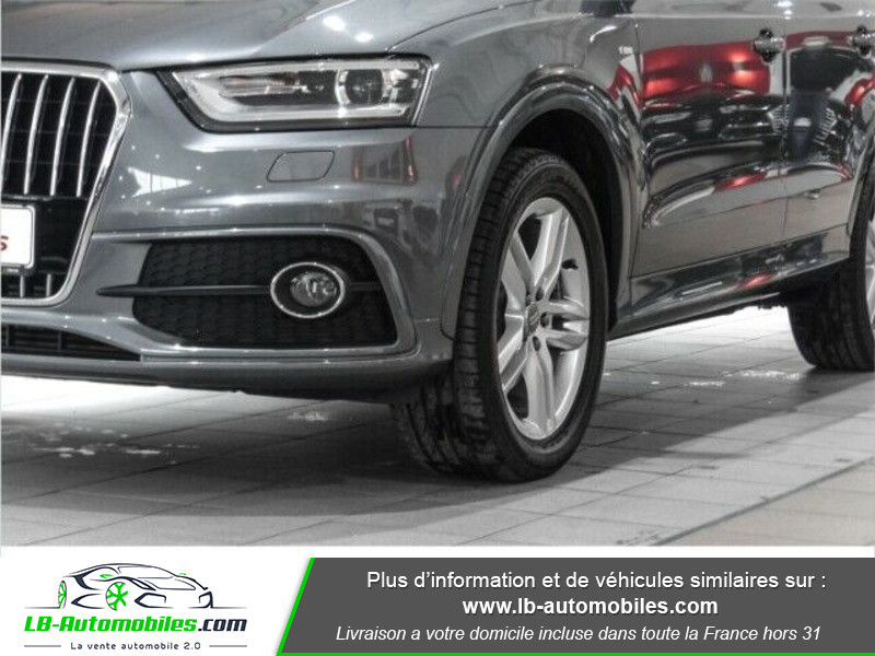 Audi Q3 2.0 TDI 177 ch Quattro S tronic 7 Gris occasion à Beaupuy - photo n°7