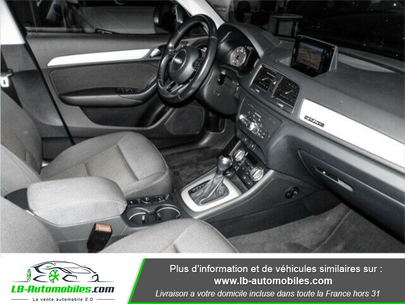Audi Q3 2.0 TDI 177 ch Quattro S tronic 7 Gris occasion à Beaupuy - photo n°9