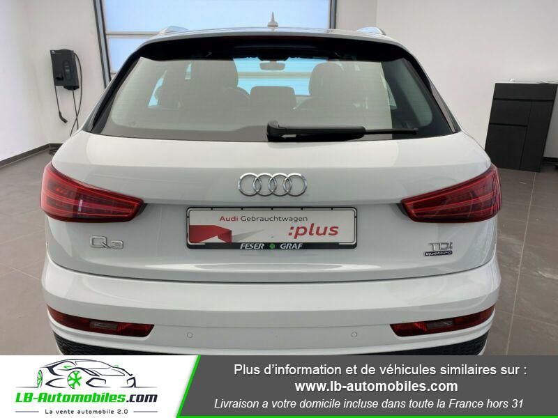 Audi Q3 2.0 TDI 184 ch S tronic 7 Quattro Blanc occasion à Beaupuy - photo n°9