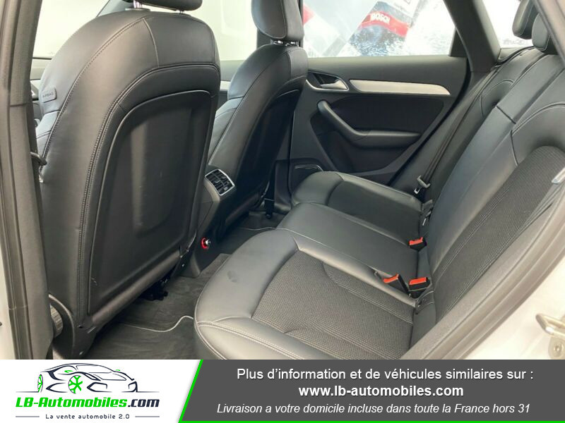 Audi Q3 2.0 TDI 184 ch S tronic 7 Quattro Blanc occasion à Beaupuy - photo n°14