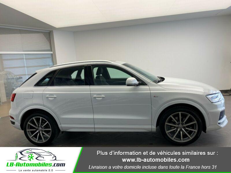 Audi Q3 2.0 TDI 184 ch S tronic 7 Quattro Blanc occasion à Beaupuy - photo n°8