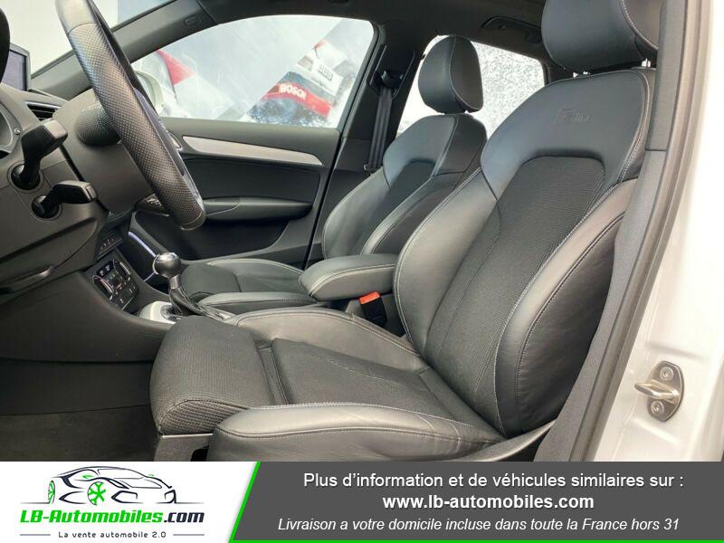 Audi Q3 2.0 TDI 184 ch S tronic 7 Quattro Blanc occasion à Beaupuy - photo n°11
