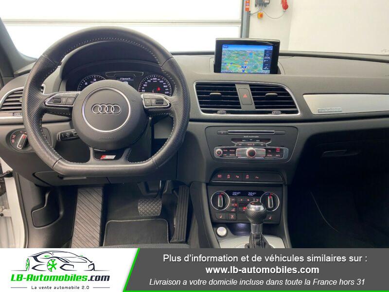 Audi Q3 2.0 TDI 184 ch S tronic 7 Quattro Blanc occasion à Beaupuy - photo n°2