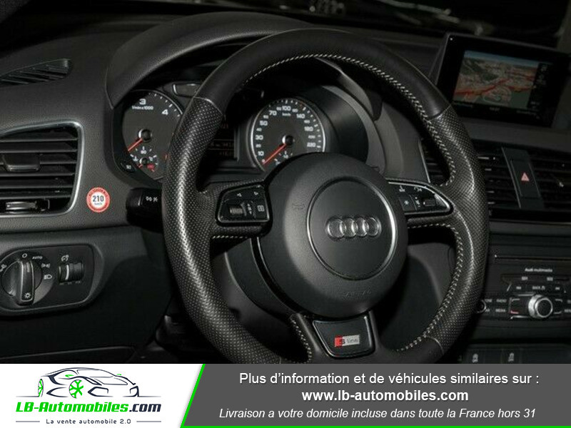 Audi Q3 2.0 TDI 184 ch S tronic 7 Quattro Gris occasion à Beaupuy - photo n°8
