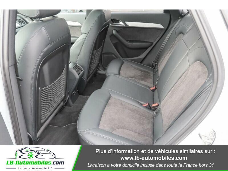 Audi Q3 2.0 TDI 184 ch S tronic 7 / S-Line / Quattro Blanc occasion à Beaupuy - photo n°5