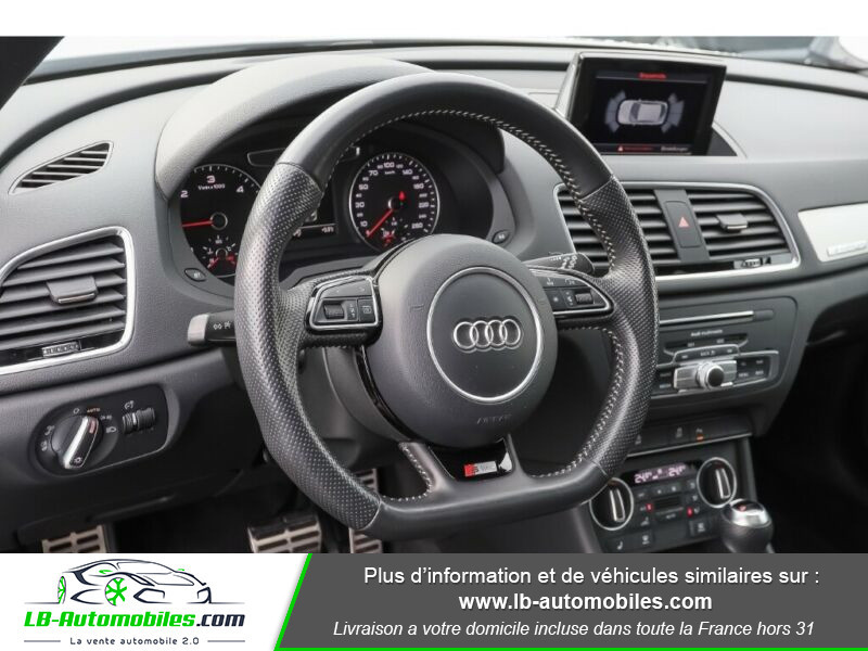 Audi Q3 2.0 TDI 184 ch S tronic 7 / S-Line / Quattro Blanc occasion à Beaupuy - photo n°6