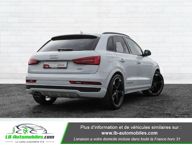 Audi Q3 2.0 TDI 184 ch S tronic 7 / S-Line / Quattro Blanc occasion à Beaupuy - photo n°3
