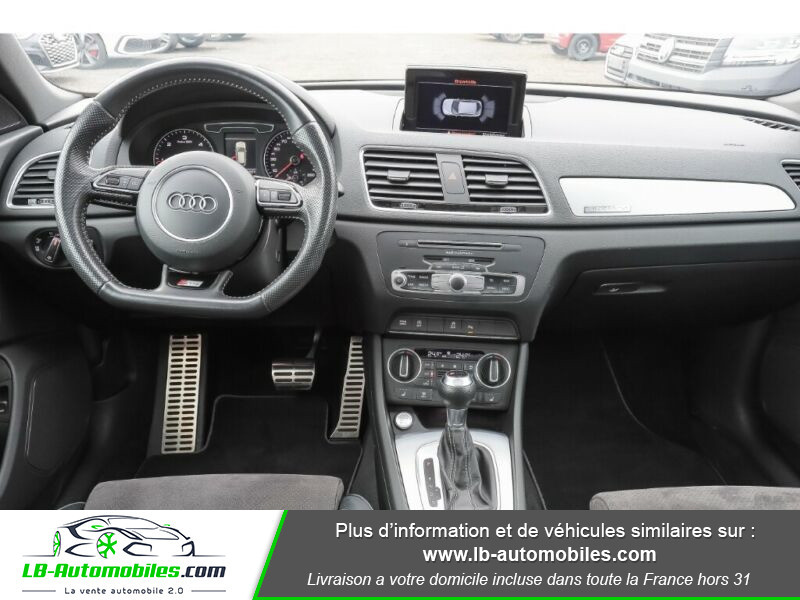 Audi Q3 2.0 TDI 184 ch S tronic 7 / S-Line / Quattro Blanc occasion à Beaupuy - photo n°2