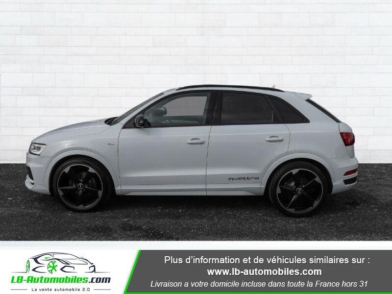 Audi Q3 2.0 TDI 184 ch S tronic 7 / S-Line / Quattro Blanc occasion à Beaupuy - photo n°14