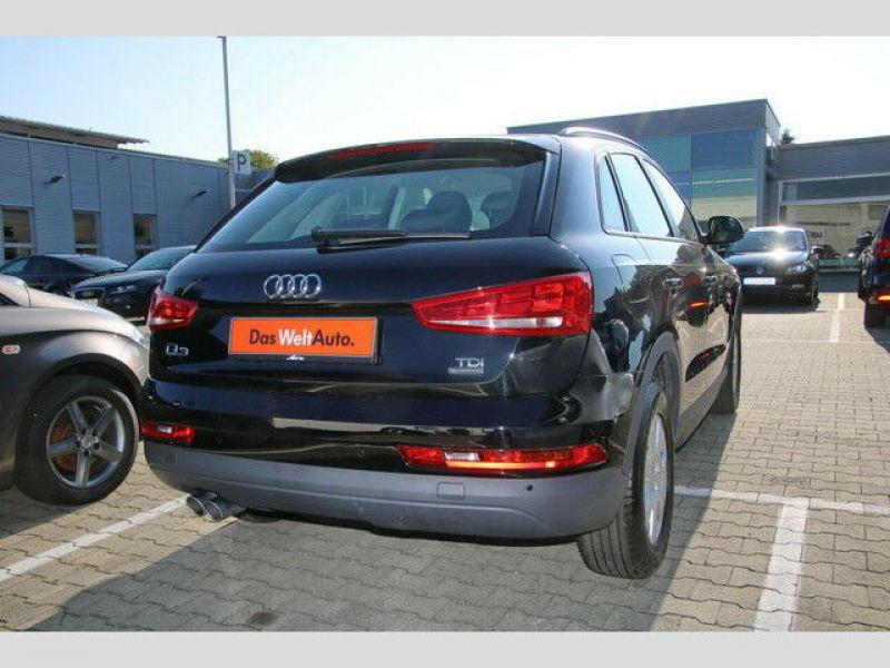 Audi Q3 2.0 TDI Quattro 150 Noir occasion à Beaupuy - photo n°3