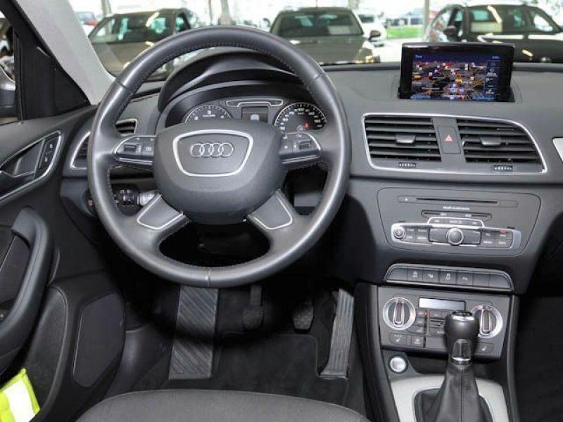 Audi Q3 2.0 TDI Quattro 177 Gris occasion à Beaupuy - photo n°2