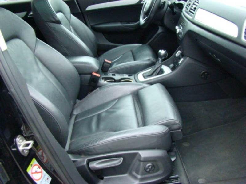 Audi Q3 2.0 TDI Quattro 177 Noir occasion à Beaupuy - photo n°5