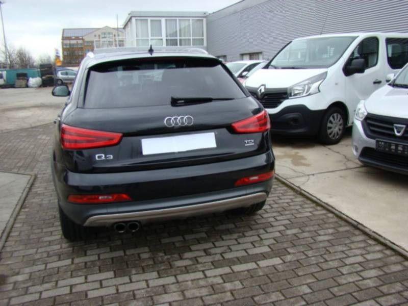 Audi Q3 2.0 TDI Quattro 177 Noir occasion à Beaupuy - photo n°9