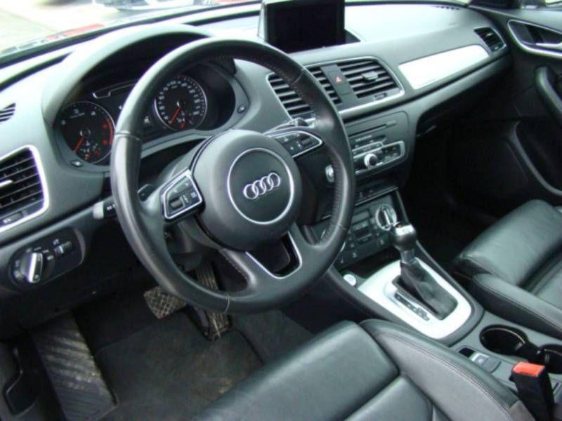 Audi Q3 2.0 TDI Quattro 177 Noir occasion à Beaupuy - photo n°2
