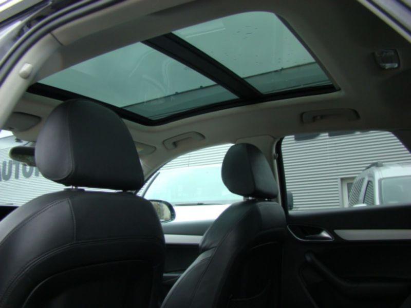Audi Q3 2.0 TDI Quattro 177 Noir occasion à Beaupuy - photo n°8