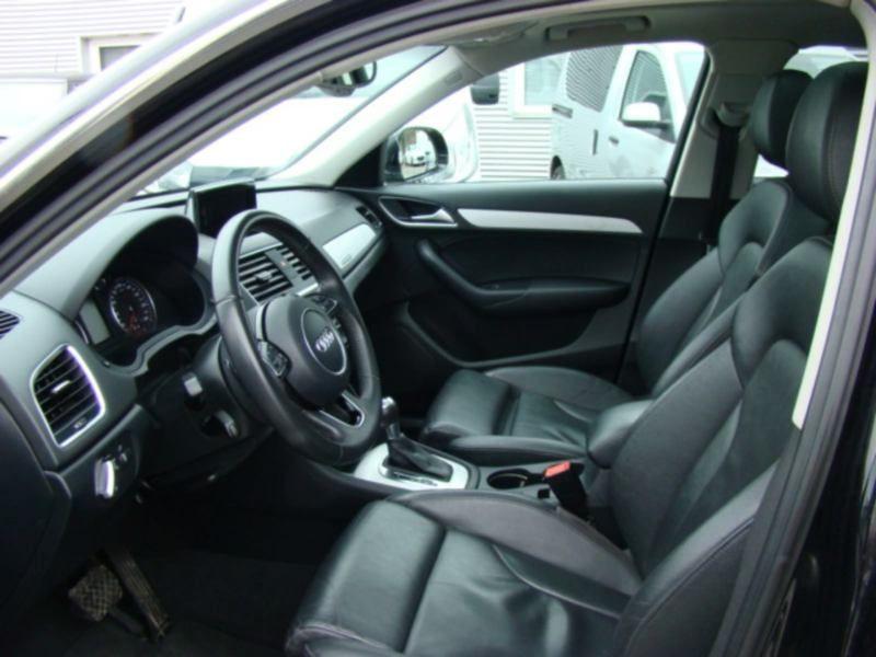 Audi Q3 2.0 TDI Quattro 177 Noir occasion à Beaupuy - photo n°4