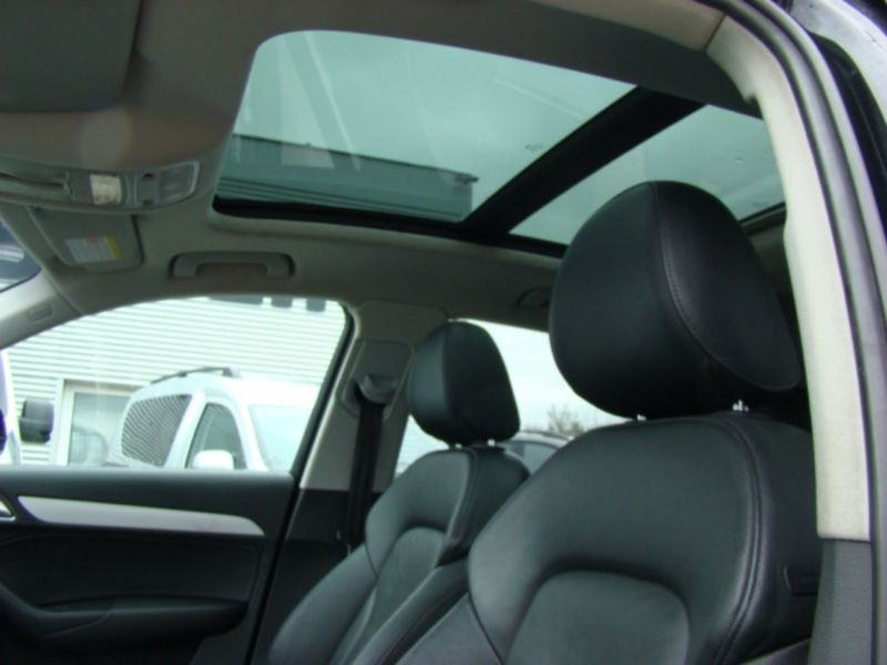 Audi Q3 2.0 TDI Quattro 177 Noir occasion à Beaupuy - photo n°7