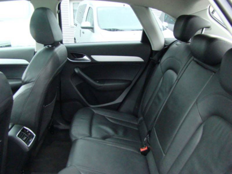 Audi Q3 2.0 TDI Quattro 177 Noir occasion à Beaupuy - photo n°6