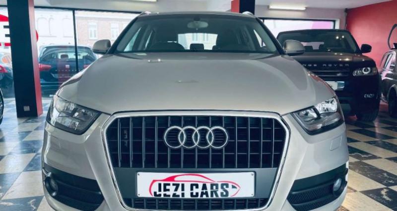 Audi Q3 2.0 TDi Marron occasion à Beveren-Leie (Waregem) - photo n°2